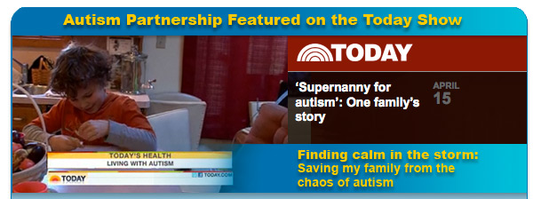 Autism Partnership on the Today Show